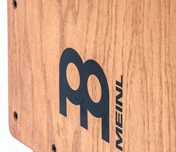 Meinl Percussion HCAJ1AWA Headliner Series String Cajon, Frontplatte: Stained American White Ash, mittlere Größe - 3