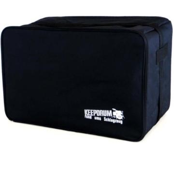 Schlagwerk CP 404 BLK 2inOne Snare Cajon Large + Keepdrum Gig Bag + Pad CP-01 - 3