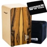 Schlagwerk CP 605 FINELINE Cajon Morado + Keepdrum Gig Bag + CP-04 Sitzpad - 1