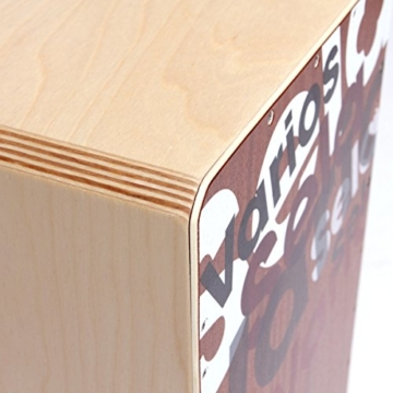 Sela Varios Snare Cajon SE 013 - mit herausnehmbarer Snare, spielfertig aufgebaut - 6