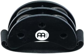 Meinl Percussion FJS2S-BK Foot Tambourine mit Edelstahlschellen, schwarz - 3