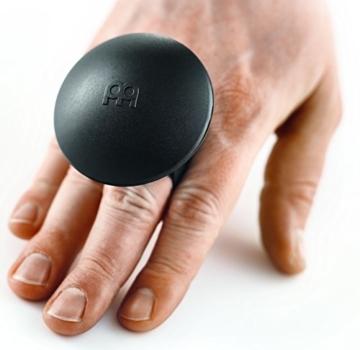 Meinl Percussion MS-BK Motion Shaker zur Befestigung am Finger Cajon Add-On - 1