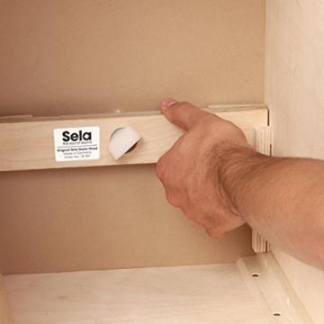 Sela CaSela Snare Cajon Bausatz Satin Nuss SE 002 - Edelfurnier Spielfläche, herausnehmbare Snare - 11