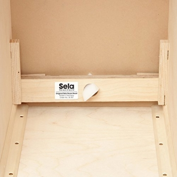 Sela CaSela Snare Cajon Bausatz Satin Nuss SE 002 - Edelfurnier Spielfläche, herausnehmbare Snare - 18