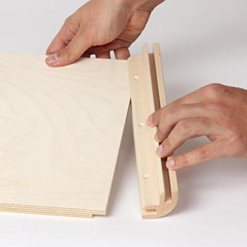 Sela CaSela Snare Cajon Bausatz Satin Nuss SE 002 - Edelfurnier Spielfläche, herausnehmbare Snare - 6