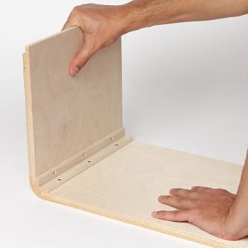 Sela CaSela Snare Cajon Bausatz Satin Nuss SE 002 - Edelfurnier Spielfläche, herausnehmbare Snare - 7