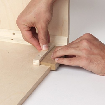 Sela CaSela Snare Cajon Bausatz Satin Nuss SE 002 - Edelfurnier Spielfläche, herausnehmbare Snare - 8