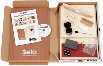 Sela Snare Cajon, Bausatz (mit Schule u. Audio-CD) - 2