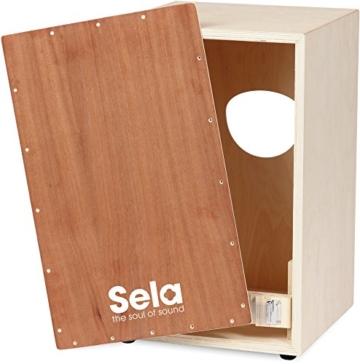Sela Snare Cajon, Bausatz (mit Schule u. Audio-CD) - 3