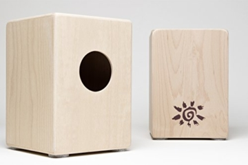 Cajon für Kinder, Kindercajon, Junior Box, Trommel, Hocker, Made in GERMANY incl. Kurzlehrgang -